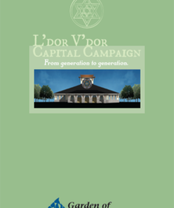 Garden of Remembrance Capital Campaign Brochure