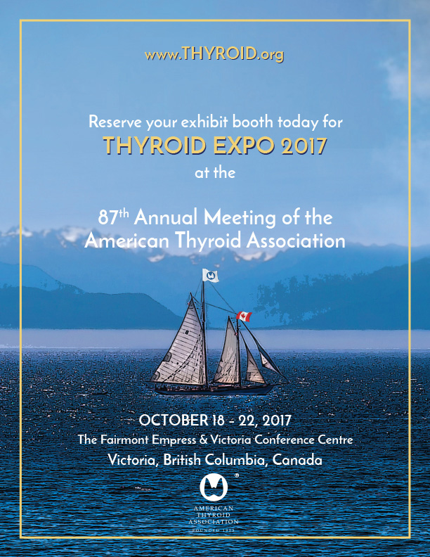 American Thyroid Association 2017 Annual Meeting Prospectus