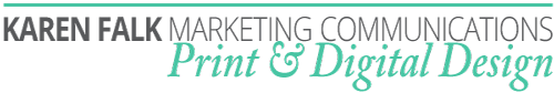 Karen Falk Marketing Communications Logo