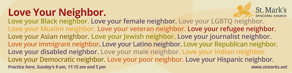 Love your Neighbor Outdoor Banner